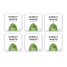 Load image into Gallery viewer, Simply Mints Peppermint (6 Pack) - APmunch