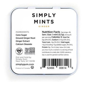 Simply Mints Ginger (6 Pack) - APmunch