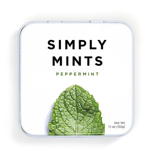 Simply Mints Peppermint (6 Pack) - APmunch