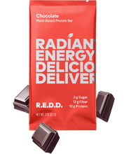 Load image into Gallery viewer, R.E.D.D. Chocolate Plant-Based Protein Bar (12 Bars Per Box) - APmunch