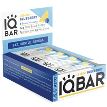 Load image into Gallery viewer, IQBAR Lemon Blueberry (12 Pack) - APmunch