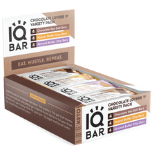 Load image into Gallery viewer, IQBAR  Chocolate Lovers Variety (12 Pack) - APmunch