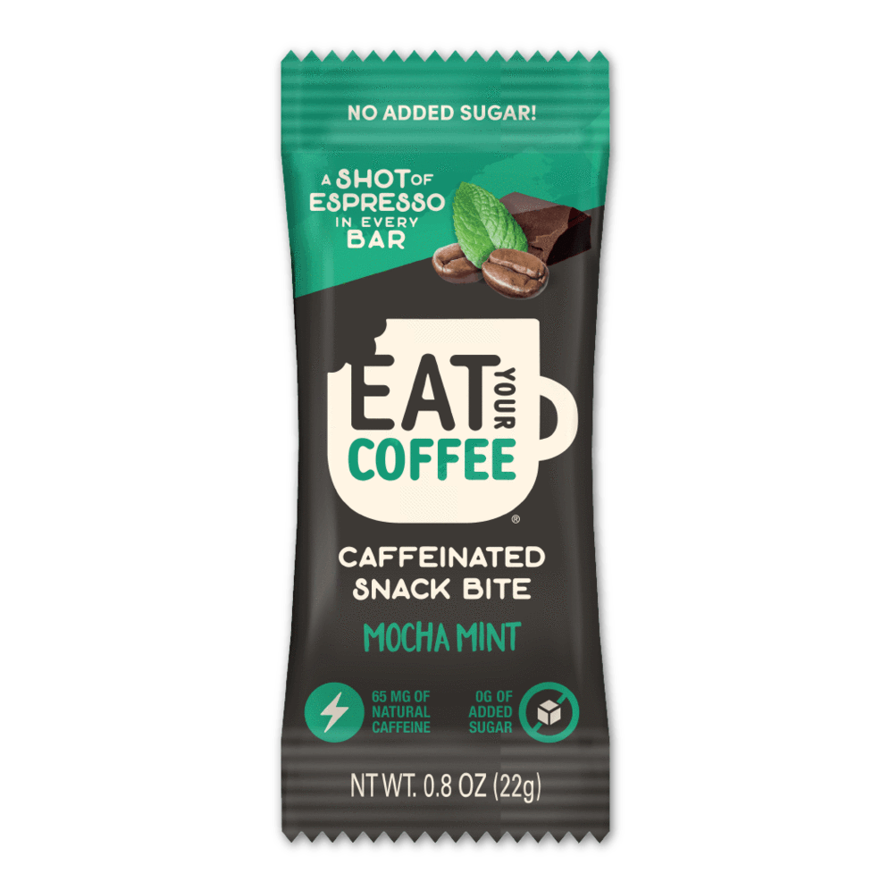 Eat Your Coffee Mocha Mint Snack Bites - APmunch