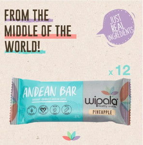Pineapple Flavored Andean Bar | Display Box of 12 bars - APmunch