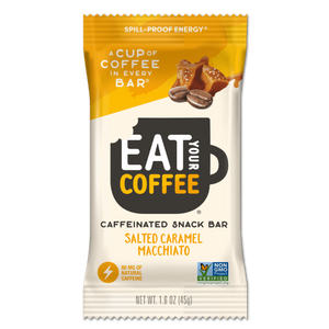 Eat Your Coffee Salted Caramel Macchiato Snack Bars - APmunch
