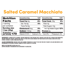 Load image into Gallery viewer, Eat Your Coffee Salted Caramel Macchiato Snack Bars - APmunch