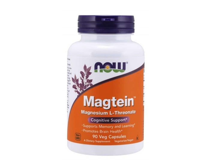 NOW Foods Magtein 90 Veg Capsules