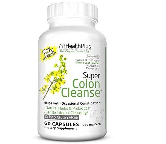 Health Plus Super Colon Cleanse 60 Capsules