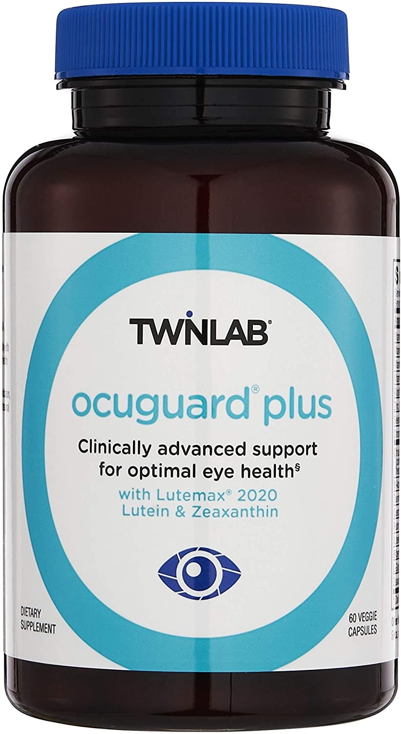 Twinlab OcuGuard Plus Lutein and Zeaxanthin 60 Capsules