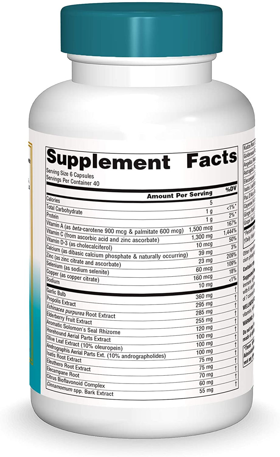 Source Naturals Wellness Formula 240 Capsules
