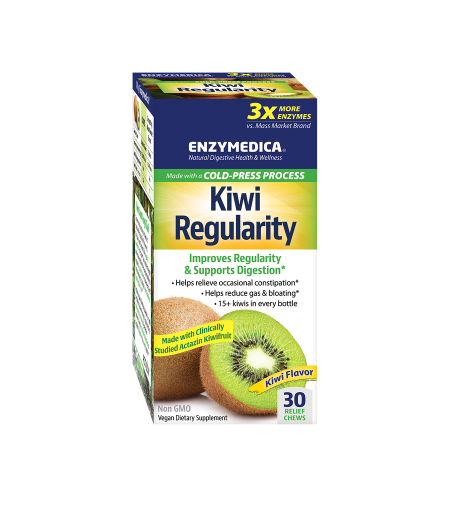 Enzymedica Kiwi Regularity Chews