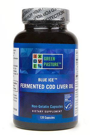 BLUE ICE™ FERMENTED COD LIVER OIL - 120 Capsule