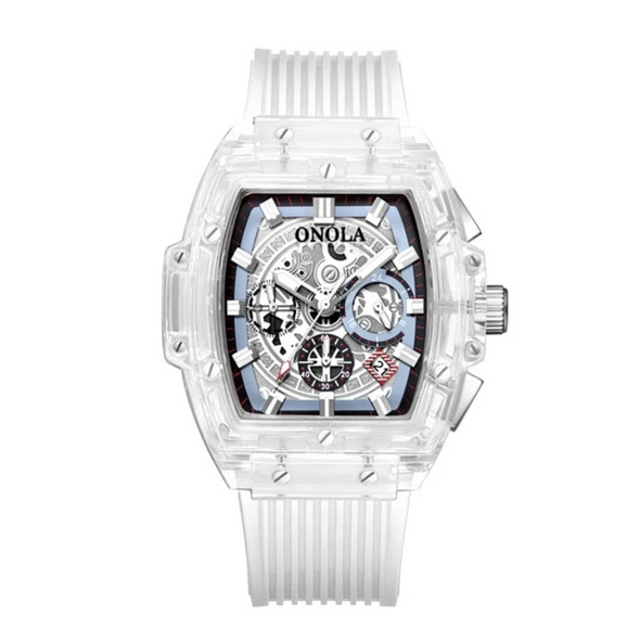 ONOLA - Transparent Skeleton Timepieces