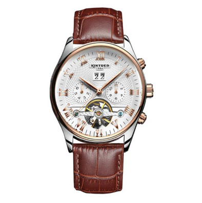 KINYUED - Tourbillon Mechanical Watch