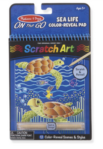 Scratch Art Color Reveal Pad