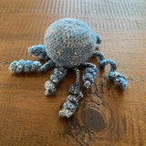Upcycled Crocheted Amigurumi Octopie