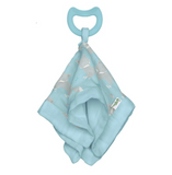 Snuggle Blankie Teether made from Organic Cotton