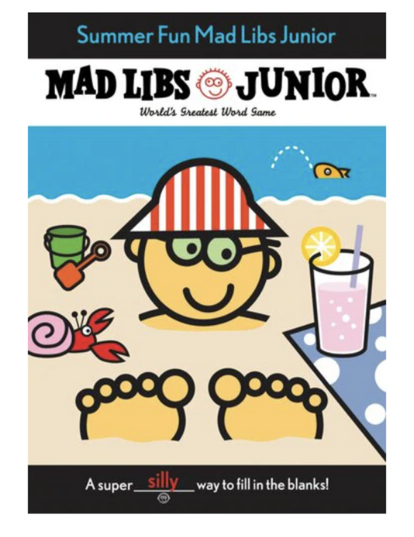 Mad Libs Junior - Summer Fun
