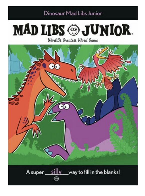 Mad Libs Junior - Dinosaur