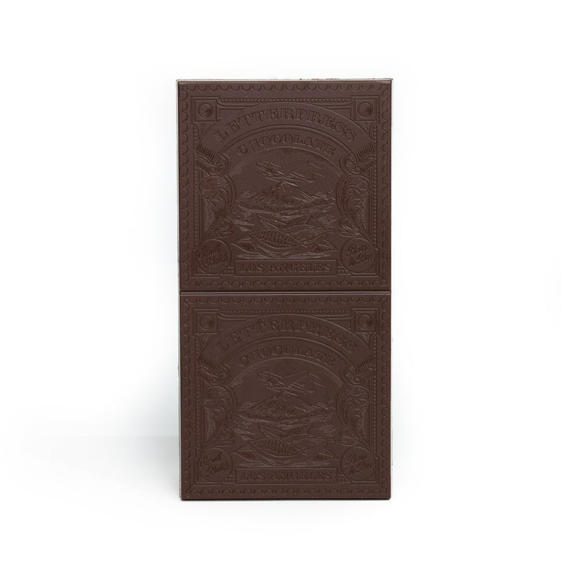 Alibi x Letterpress Chocolate Mocha Crunch Bar