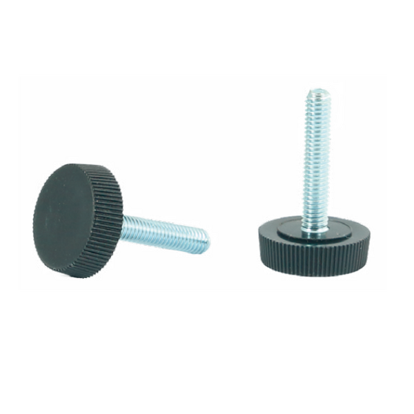 Adjustable foot, knurled D20, D25