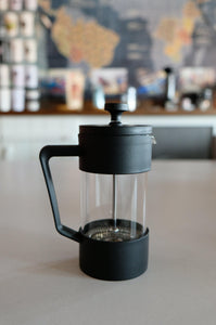 French Press Siyah - Coffee Gutta - The Route Of Coffee