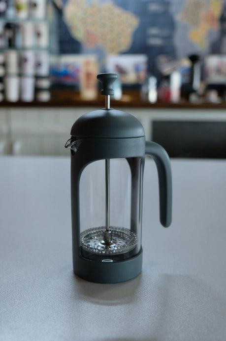 French Press Gri - Coffee Gutta - The Route Of Coffee