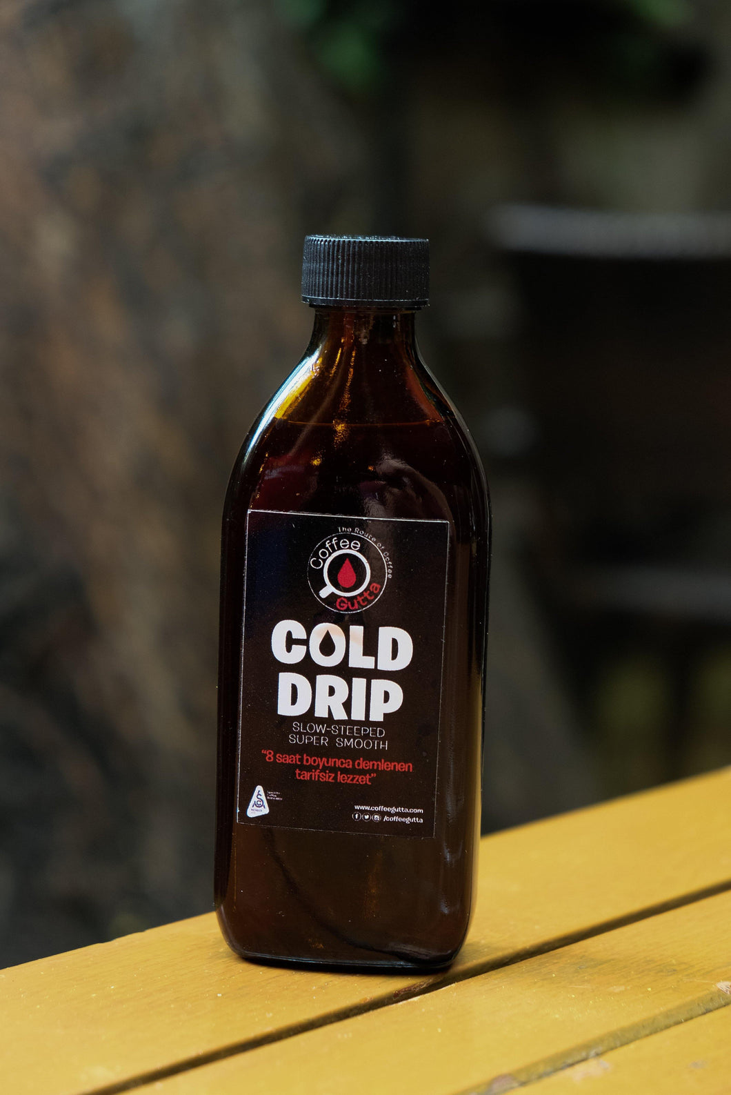 Cold Drip - Cam Şişe - Coffee Gutta - The Route Of Coffee