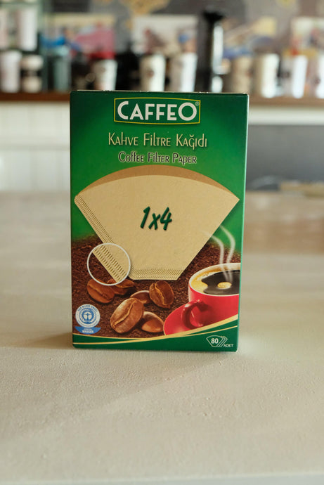 Caffeo Filtre Kağıdı 1x4 - Coffee Gutta - The Route Of Coffee