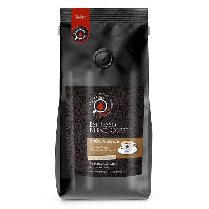 Espresso Blend - Coffee Gutta - The Route Of Coffee