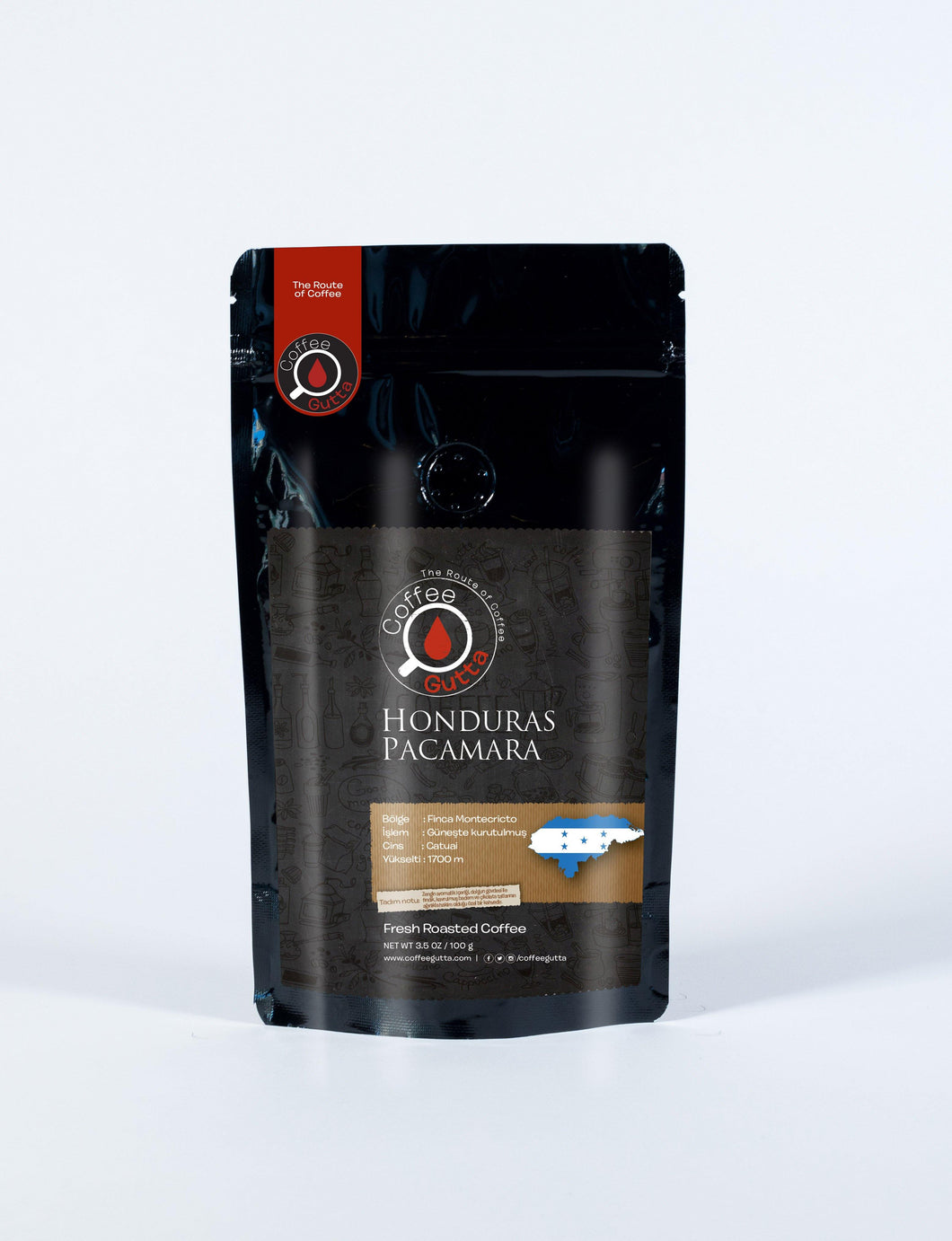Honduras Pacamara - Coffee Gutta - The Route Of Coffee