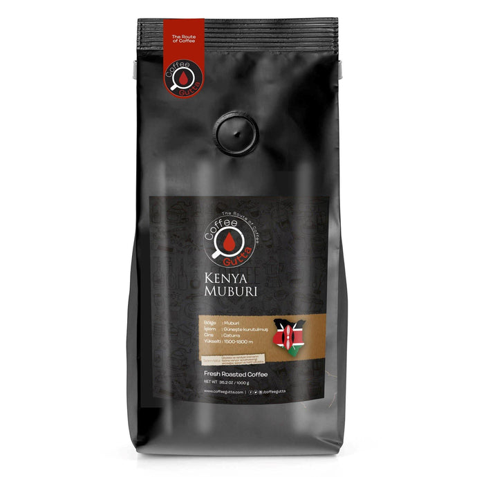 Kenya Muburi - Coffee Gutta - The Route Of Coffee