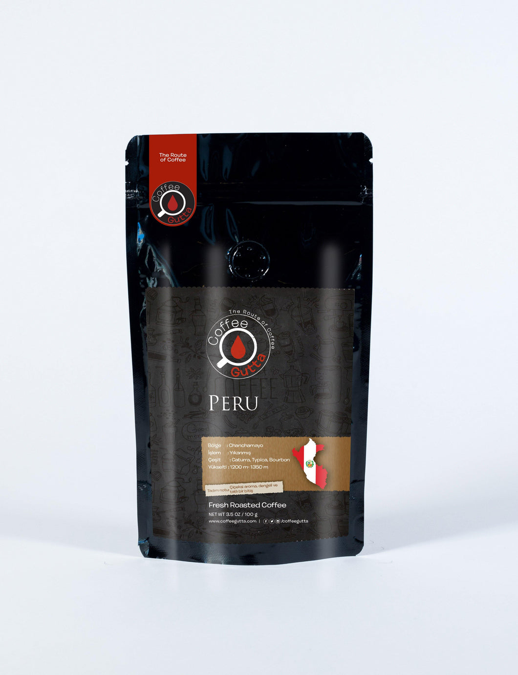 Peru Chanchamayo - Coffee Gutta - The Route Of Coffee