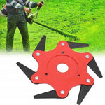 Slim Green™ Universal 6 Blades Trimmer Head For Lawn Mower