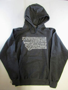 State Brewery Hoodie- Small Charcoal