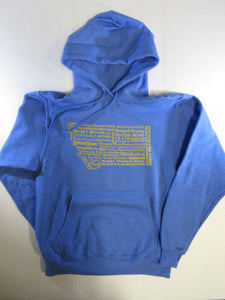 Blue Brewery Hoodie, Blue, Small