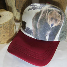 Load image into Gallery viewer, Trucker Hat, Grizzly, Adult