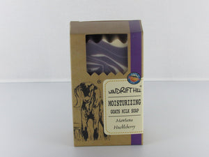 Montana Huckleberry Goat Milk Soap by Windrift Hill