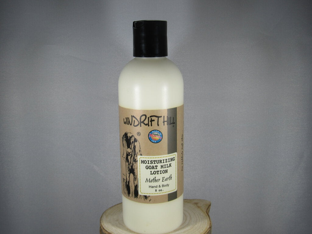 Mother Earth Goat Milk Lotion Windrift Hill