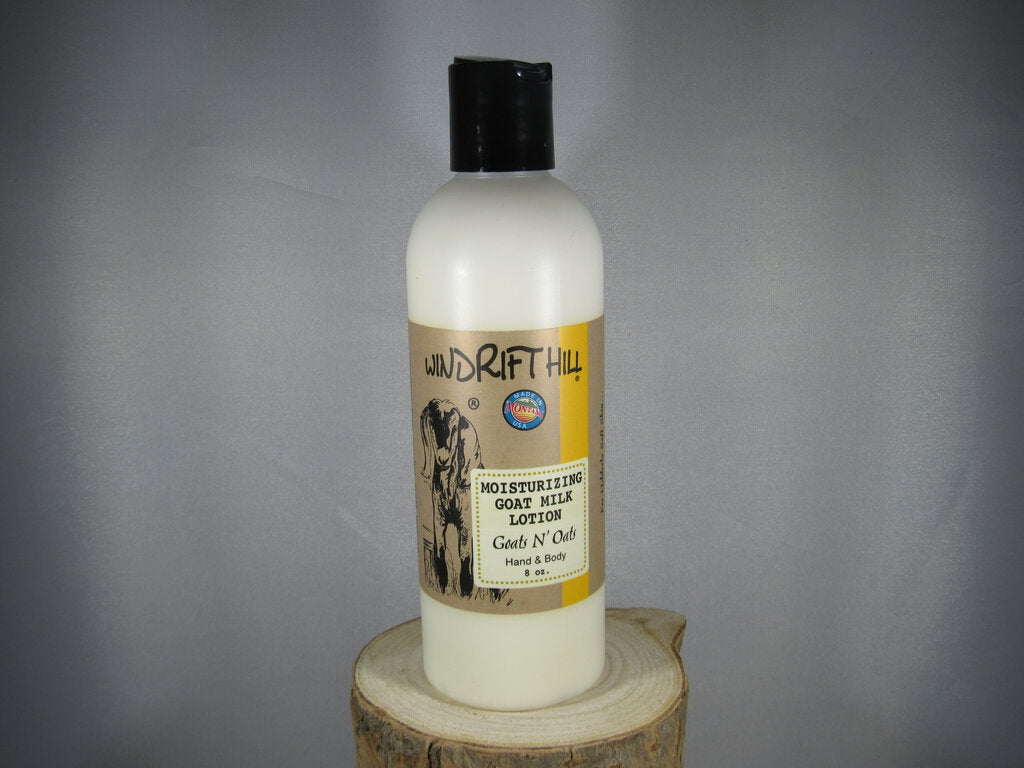 Goats N Oats Goat Milk Lotion Windrift Hill