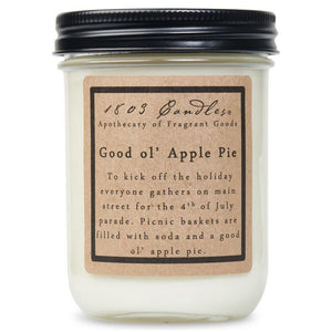 1803 Good Ol' Apple Pie Soy Candle 14 oz