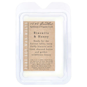 Biscuits & Honey Melters 1803 Candles