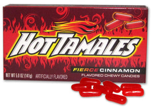Hot Tamales Concession Size
