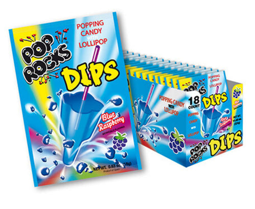 Pop Rocks Dips, Blue Raspberry, Individual