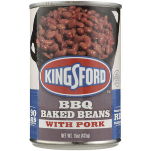 Kingsford BBQ flavored Baked Beans with Pork
