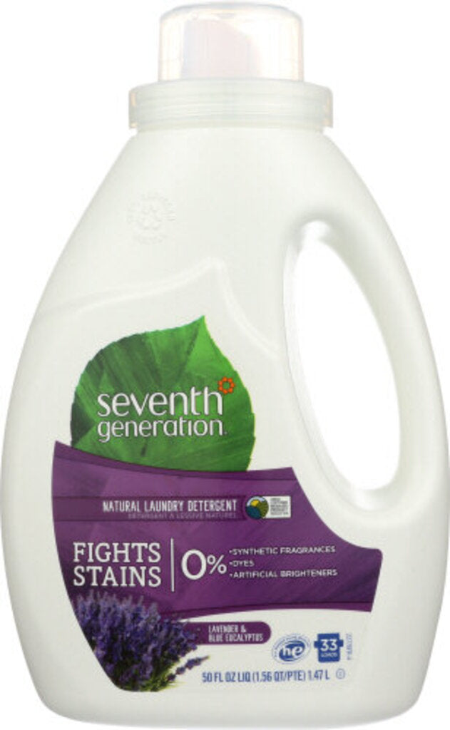 Seventh Generation Lavender Laundry Detergent