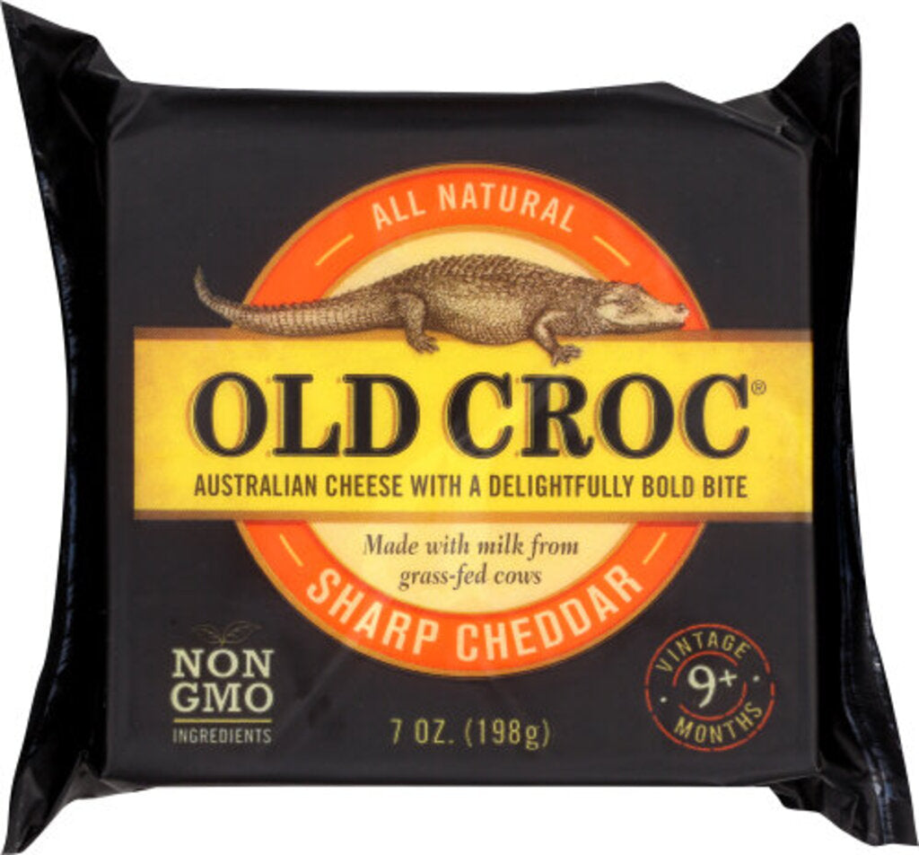 Old Croc Australian Sharp Cheddar Cheese