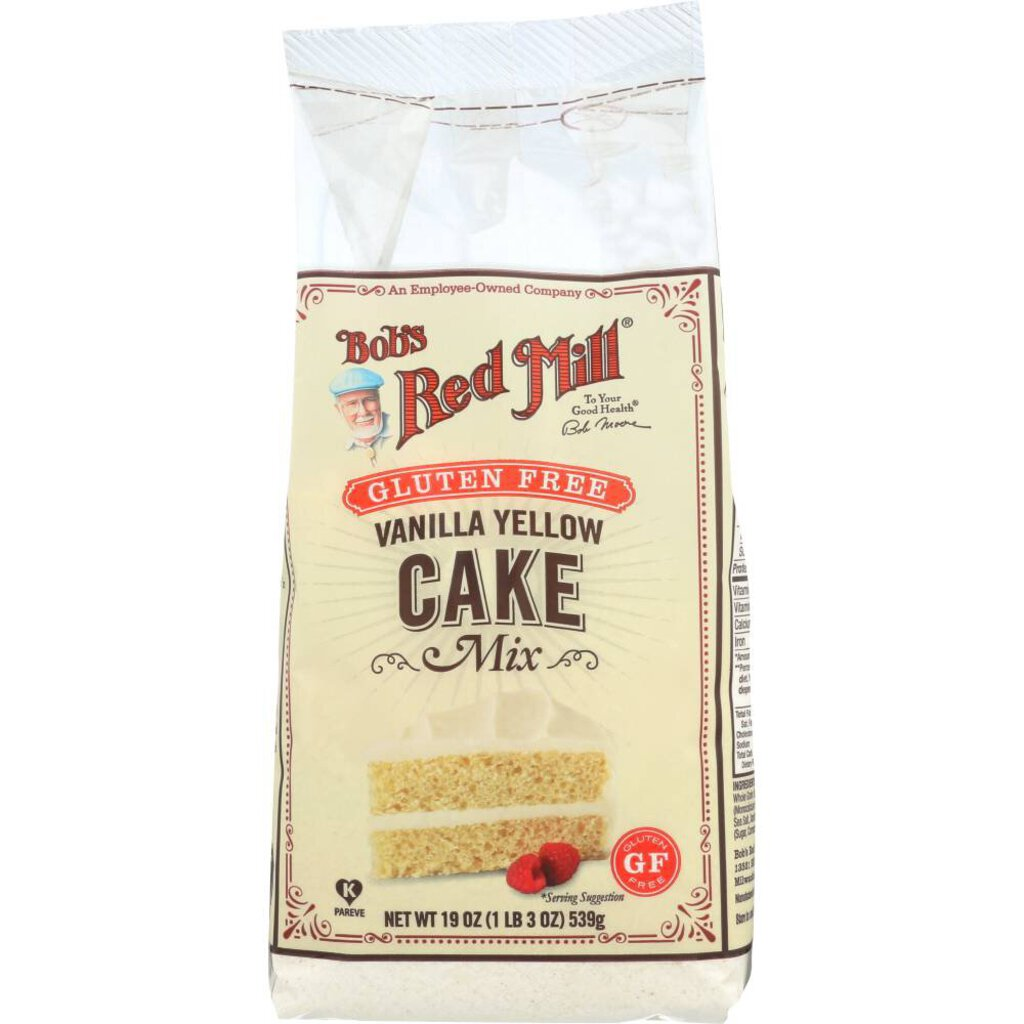 Bob's Red Mill Gluten Free Yellow Cake Mix