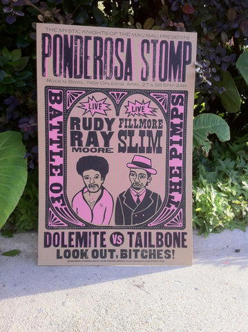 2004 Rudy Ray Moore & Fillmore Slim Poster