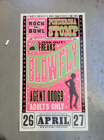 2005 Blowfly Poster